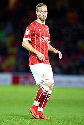 January 6, 2018 - Watford, England, United Kingdom - Bristol City's Gustav Engvall..during FA Cup 3rd Round match between Watford  and Bristol  City at Vicarage Road Stadium, Watford ,  England 06 Jan 2018. (Credit Image: © Kieran Galvin/NurPhoto via ZUMA Press)