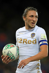 """Leeds United's Pawel Cibicki during the Carabao Cup, Fourth Round match at the King Power Stadium, Leicester. PRESS ASSOCIATION Photo. Picture date: Tuesday October 24, 2017. See PA story SOCCER Leicester. Photo credit should read: Mike Egerton/PA Wire. RESTRICTIONS: EDITORIAL USE ONLY No use with unauthorised audio, video, data, fixture lists, club/league logos or """"live"""" services. Online in-match use limited to 75 images, no video emulation. No use in betting, games or single club/league/player publications."""