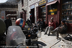 Himalayan Heroes adventure day-5 riding from Kalopani through the Mustang District to our highest elevation of the trip at over 12,000' when we reached Muktinath, Nepal. Saturday, November 10, 2018. Photography ©2018 Michael Lichter.