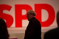 DEU, Deutschland, Germany, Berlin, 11.12.2015: Wolfgang Thierse (SPD) beim Bundesparteitag der SPD im CityCube.