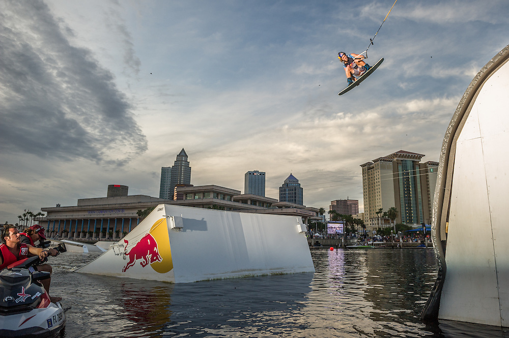 Raph Derome Competes at the Red Bull Wake Open in Tampa Bay, Florida on July 5th 2013.