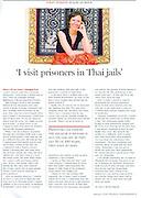 Portrait of Susan Aldous for The Financial Times.