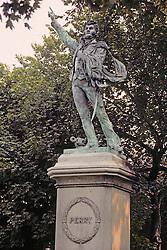 Commodore Mathew Statue