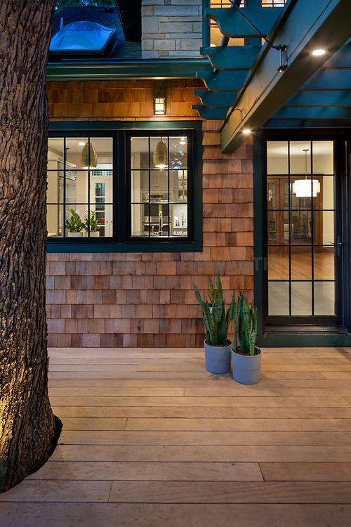 2506 Dewitt Kitchen with island exterior deck with screened in porch VA2_229_899