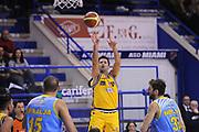 DESCRIZIONE : Porto San Giorgio Lega A 2013-14 Sutor Montegranaro Vanoli Cremona<br /> GIOCATORE : Daniele Cinciarini<br /> CATEGORIA : tiro <br /> SQUADRA : Sutor Montegranaro<br /> EVENTO : Campionato Lega A 2013-2014<br /> GARA : Sutor Montegranaro Vanoli Cremona<br /> DATA : 12/01/2014<br /> SPORT : Pallacanestro <br /> AUTORE : Agenzia Ciamillo-Castoria/C.De Massis<br /> Galleria : Lega Basket A 2013-2014  <br /> Fotonotizia : Porto San Giorgio Lega A 2013-14 Sutor Montegranaro Vanoli Cremona<br /> Predefinita :
