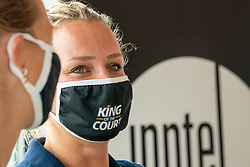 Sanne Keizer during press conference King of the Court Utrecht on 9 september 2020 in Utrecht.