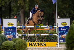 Doem Arnaud, BEL, Edgar de Prefontaine<br /> Belgisch Kampioenschap Jumping  <br /> Lanaken 2020<br /> © Hippo Foto - Dirk Caremans<br /> 03/09/2020