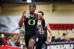 Don Kirby Invitational Indoor Track & Field<br /> Albuquerque, NM, Feb 14, 2020<br /> mens 400m, Oregon