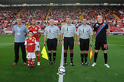 Mascot photo   - Photo mandatory by-line: Dougie Allward/JMP - Tel: Mobile: 07966 386802 27/08/2013 - SPORT - FOOTBALL - Ashton Gate - Bristol - Bristol City V Crystal Palace -  Capital One Cup - Round 2