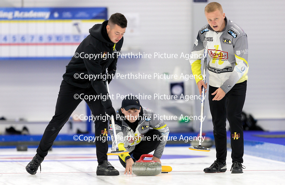 Euro Super Series Curling Finals....<br />Bruce Mouat<br />Picture by Graeme Hart.<br />Copyright Perthshire Picture Agency<br />Tel: 01738 623350  Mobile: 07990 594431