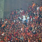 Galatasaray's Supporters during their Turkish Super League soccer match Galatasaray between Sivasspor at the AliSamiYen Spor Kompleksi TT Arena at Seyrantepe in Istanbul Turkey on Sunday 05 May 2013. Photo by TURKPIX