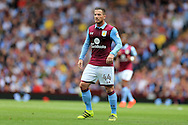 Ross McCormack of Aston Villa looks on. EFL Skybet championship match, Aston Villa v Rotherham Utd at Villa Park in Birmingham, The Midlands on Saturday 13th August 2016.<br /> pic by Andrew Orchard, Andrew Orchard sports photography.