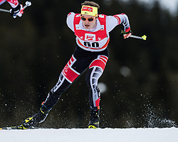 28.01.2018, Seefeld, AUT, FIS Weltcup Langlauf, Seefeld, FIS Weltcup Langlauf, 15 km Sprint, Herren, im Bild Bernhard Tritscher (AUT) // Bernhard Tritscher of Austria during men's 15 km sprint of the FIS cross country world cup in Seefeld, Austria on 2018/01/28. EXPA Pictures © 2018, PhotoCredit: EXPA/ Stefan Adelsberger