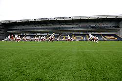 The Sixways Stadium hosts the IFAF European Championship - Photo mandatory by-line: Dougie Allward/JMP - 18/09/2016 - American Football - Sixways Stadium - Worcester, England - Netherlands v Russia - IFAF European Championship