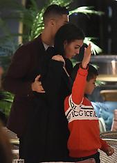 Cristiano Ronaldo and his girlfriend Georgina Rodriguez enjoy a evening at Zela - 13 Nov 2018