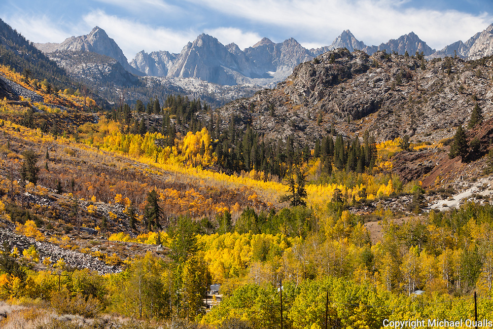 Fall Foliage Colors in the Bishop Creek Drainage