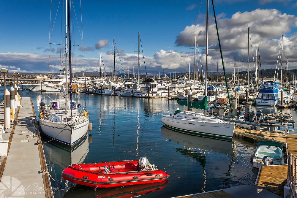 The Breakwater Cove, dock and marina area, Monterey, California