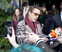 Robert Downey Jr. at the 'Dolittle' - Special Screening at Cineworld Leicester Square in London, England. Saturday 25th January 2020