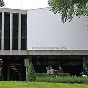 NLD/Hilversum/20110721 - Het gerechtsgebouw in Hilversum waar Xavier Cabau, broer van Yolanthe Sneijder - Cabau van Kasbergen veroordeeeld werd wegens mishandeling