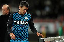 22-01-2012 VOETBAL: FC UTRECHT - PSV: UTRECHT<br /> Utrecht speelt gelijk tegen PSV 1-1 / Kevin Strootman<br /> ©2012-FotoHoogendoorn.nl