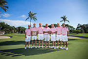 University of Clemson team champion of the 3rd annual Kaanapali Classic collegiate invitational. Kaanapali Royal Course Lahaina, Hawaii November 5th, 2016/ Photo by Aric Becker
