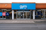 On the last day before the national coronavirus lockdown three, a gym in Kings Heath remains closed on 5th January 2021 in Birmingham, United Kingdom. Following the recent surge in cases including the new variant of Covid-19, this nationwide lockdown, which is an effective Tier Five, came into operation today, with all citizens to follow the message to stay at home, protect the NHS and save lives.