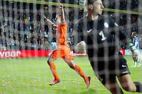 TALLINN, 06-09-2013 Stadion, WK kwalificatie Estland - Nederland 2-2. Narrow escape Robin van Persie scoort vlak voor tijd de gelijkmaker uit een penalty