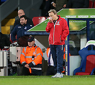 Crystal Palace's Neil Warnock looks on dejected<br /> <br /> - Barclays Premier League - Crystal Palace vs Sunderland- Selhurst Park - London - England - 3rd November 2014  - Picture David Klein/Sportimage
