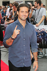 © Licensed to London News Pictures. 04/08/2014, UK.  Spencer Matthews, The Expendables 3 - World Film Premiere, Leicester Square, London UK, 04 August 2013. Photo credit : Richard Goldschmidt/Piqtured/LNP