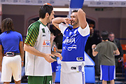 Campani Luca , Moraschini Riccardo<br /> Happycasa Brindisi - Sidigas Avellino<br /> Legabasket serieA  2018-2019<br /> Brindisi ,05/01/2019<br /> Foto Ciamillo-Castoria / Michele Longo