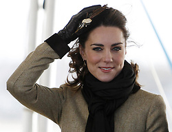 ALTERNATE CROP Kate Middleton at a service of dedication for a new RNLI lifeboat at Trearddur Bay Lifeboat Station in Anglesey, North Wales.