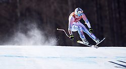 February 17, 2018 - Pyeongchang, South Korea - Lindsey VONN of USA tied for sixth place with this run during the Ladies' Super-G at the Jeongseon Alpine Centre during the 2018 Pyeongchang Winter Olympic Games. (Credit Image: © Daniel A. Anderson via ZUMA Wire)