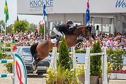 Cox Karel, BEL, Escape-Adventure<br /> Grand Prix Rolex powered by Audi <br /> CSI5* Knokke 2019<br /> © Hippo Foto - Dirk Caremans<br /> Cox Karel, BEL, Escape-Adventure