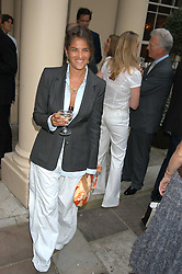 Artist TRACEY EMIN at the Tatler Summer Party in association with Moschino at Home House, 20 Portman Square, London W1 on 29th June 2005.<br /><br />NON EXCLUSIVE - WORLD RIGHTS