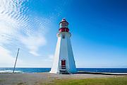 Point Richie lighthouse, Port au choix, Newfoundland, Canada