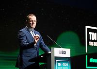 DEU, Deutschland, Germany, Berlin, 06.10.2020: Bundesgesundheitsminister Jens Spahn (CDU) beim Tag der Industrie (TDI) des Bundesverbands der Deutschen Industrie (BDI) in der Verti Music Hall.