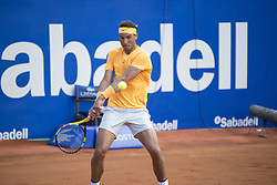 April 29, 2018 - Barcelona, Barcelona, Spain - RAFAEL NADAL during the final against STEFANOS TSITSIPAS in the Barcelona Open Banc Sabadell 2018. RAFAEL NADAL won the match 6-2 6-1. This was RAFAEL NADAL's 11th victory at the tournament. (Credit Image: © Patricia Rodrigues/via ZUMA Wire via ZUMA Wire)