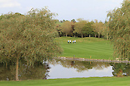 Tom Murray (ENG) & Nino Bertasio (ITA) on the 20th fairway during Round 4 of the Volopa Irish Challenge in Tullow, Co. Carlow on Sunday 10th October 2015.<br /> Picture:  Thos Caffrey / www.golffile.ie