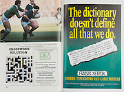 Irish Rugby Football Union, Ireland v Wales, Five Nations, Landsdowne Road, Dublin, Ireland, Saturday 24th March, 1990,.24.03.1990, 03.24.1990,..Referee- D J Bishop, New Zealand, ..Score - Ireland 14-8 Wales, ..Irish Team, ..K Murphy,  Wearing number 15 Irish jersey, Full Back, Cork Constitution Rugby Football Club, Cork, Ireland,..K J Hooks,  Wearing number 14 Irish jersey, Right Wing, Ards Rugby Football Club, Down, Northern Ireland,..M J Kiernan, Wearing number 13 Irish jersey, Right Centre, Dolphin Rugby Football Club, Cork, Ireland, ..B J Mullin, Wearing number 12 Irish jersey, Left Centre, Blackrock College, Rugby Football Club, Dublin, Ireland, ..K D Crossan, Wearing number 11 Irish jersey, Left Wing, Instonians Rugby Football Club, Belfast, Northern Ireland,..B A Smith, Wearing number 10 Irish jersey, Out Half, Oxford University Rugby Football Club, Oxford, England, ..M T Bradley, Wearing number 9 Irish jersey, Scrum Half, Constitution Rugby Football Club, Cork, Ireland,..N P Mannion, Wearing number 8 Irish jersey, Forward, Corinthians Rugby Football Club, Galway, Ireland,..P J OHara, Wearing number 7 Irish jersey, Forward, Sunday Wells Rugby Football Club, Cork, Ireland, ..W D McBride, Wearing number 6 Irish jersey, Forward, Malone Rugby Football Club, Belfast, Northern Ireland,..N P Francis, Wearing number 5 Irish jersey, Forward, Blackrock College, Rugby Football Club, Dublin, Ireland, . .D G Lenihan, Wearing number 4 Irish jersey, Captain of the Irish team, Forward, Cork Constitution Rugby Football Club, Cork, Ireland,..D C Fitzgerald, Wearing number 3 Irish jersey, Forward, Landsdowne Rugby Football Club, Dublin, Ireland,..J P McDonald, Wearing number 2 Irish jersey, Forward, Malone Rugby Football Club, Belfast, Northern Ireland, ..J J Fitzgerald, Wearing number 1 Irish jersey, Forward, Young Munster Rugby Football Club, Limerick, Ireland,..Welsh Team, ..P H Thorburn, Wearing number 15 Welsh jersey, Full Back, Neath Rugby Football Club, Neath, Wales, ..