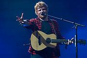 Ed Sheeran Plays the Pyramid Stage - The 2017 Glastonbury Festival, Worthy Farm. Glastonbury, 25 June 2017