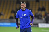 Toby Alderweireld defender of Tottenham Hotspur (4) wearing Together with Leicester t-shirt during the Premier League match between Wolverhampton Wanderers and Tottenham Hotspur at Molineux, Wolverhampton, England on 3 November 2018.