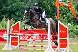 02, Springpferde Prfg. Kl. A**,Kellinghusen - Reittunier 26. - 27.06.2021, Janet Maas (GER), Kabaya H,