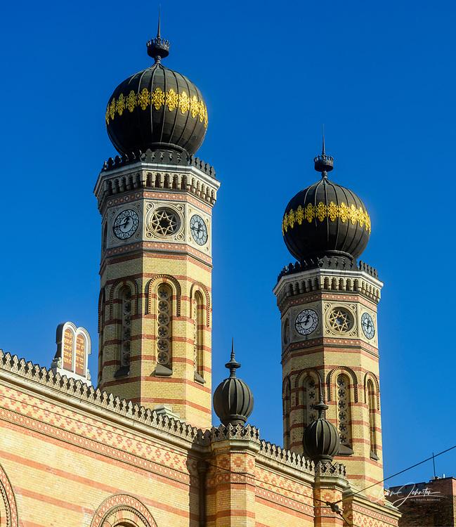 Downtown Budapest (Pest)- Dohány Street Synagogue, Budapest, Central Hungary, Hungary