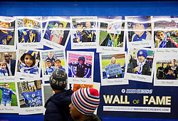 Bridgekids Wall of Fame prior to the football match between Chelsea FC and NK Maribor, SLO in Group G of Group Stage of UEFA Champions League 2014/15, on October 21, 2014 in Stamford Bridge Stadium, London, Great Britain. Photo by Vid Ponikvar / Sportida.com