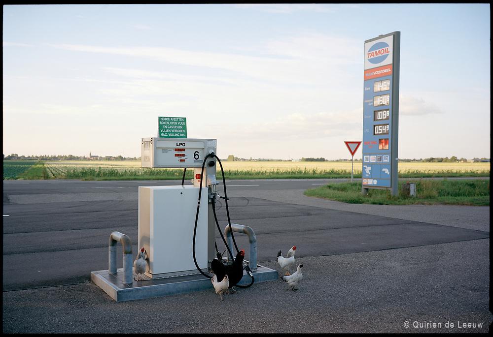 Tamoil LPG pomp. Zuid Holland.