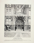 """Mills Building in Broad Street from The American Civil War book and Grant album : """"art immortelles"""" : a portfolio of half-tone reproductions from rare and costly photographs designed to perpetuate the memory of General Ulysses S. Grant, depicting scenes and incidents in connection with the Civil War Published  in Boston and New York by W. H. Allen in 1894"""
