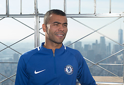 November 27, 2017 - New York, New York, U.S - The Empire State Building hosts former Chelsea FC legends ASHLEY COLE on November 27, 2017 in New York. (Credit Image: © Bryan Smith via ZUMA Wire)