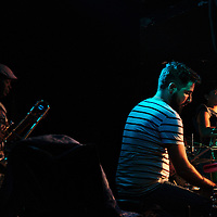 Show of the Interactivos band at Vedado quarter