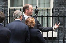 © London News Pictures. 18/05/15. London, UK. Douglas Carswell UKIP MP takes a selfie of himself as he joins a group handing in a petition for electoral reform, Downing Street, Westminster, Central London. Photo credit: Laura Lean/LNP/05/15.