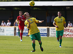 August 28, 2017 - London, United Kingdom - George Winn of Thurrock FC.during Bostik League Premier Division match between Thurrock vs Billericay Town at  Ship Lane Ground, Aveley on 28 August 2017  (Credit Image: © Kieran Galvin/NurPhoto via ZUMA Press)